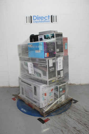 6 Pallets – 123 Pcs – Speakers, Portable Speakers – Tested NOT WORKING – Ion, LG, Samsung, Onn