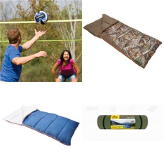 Pallet – 64 Pcs – Camping & Hiking, Outdoor Sports, Hunting – Customer Returns – EastPoint Sports, Ozark Trail, Athletic Works, Venture Outdoors