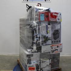 Pallet – 24 Pcs – Vacuums, Portable Speakers, Speakers – Customer Returns – Shark, Hoover, Bissell, Worx