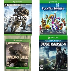 Pallet – 366 Pcs – Video Games – Microsoft, Other – Customer Returns – Ubisoft, Electronic Arts, Square Enix, Bethesda