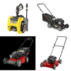 Pallet - 6 Pcs - Mowers - Customer Returns - Karcher, Snapper