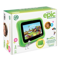 100 Pcs - Leap Frog 6022 Epic Academy Edition Learning Tablet - Green - Refurbished (GRADE A)