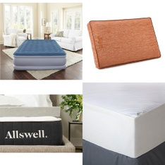 Pallet – 25 Pcs – Covers, Mattress Pads & Toppers, Comforters & Duvets – Customer Returns – Aller-Ease, Beautyrest, Allswell, Mainstay's