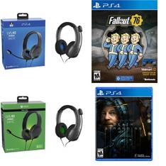 Pallet – 554 Pcs – Sony, Audio Headsets – Customer Returns – PDP, Bethesda, Sony, Electronic Arts