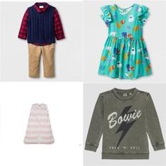 116 Pcs - Babies - New Damaged Box, New, Like New, Open Box Like New - Retail Ready - Cat & Jack, Burt's Bees Baby, Junk Food, Carter's