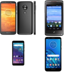 CLEARANCE! 63 Pcs – Cellular Phones – BRAND NEW – Not Activated – Motorola, ZTE, ALCATEL, Unimax