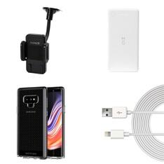55 Pcs - Cellular Phones Accessories - Like New, Open Box Like New, New Damaged Box, Used - Motile, Yada, Tech21, Just Wireless
