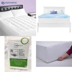 Pallet - 26 Pcs - Covers, Mattress Pads & Toppers, Comforters & Duvets - Customer Returns - Mainstays, Dream Serenity, SPRINGS GLOBAL, Mainstay's