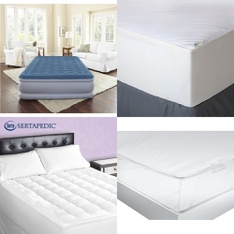 Pallet – 39 Pcs – Covers, Mattress Pads & Toppers, Comforters & Duvets – Customer Returns – Aller-Ease, Mainstay's, Beautyrest, Mainstays