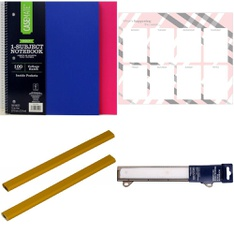 Pallet - 913 Pcs - Office Supplies, Calendars, Shredders - Customer Returns - Casemate, Mead, BIC, Blue Sky