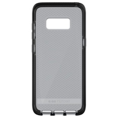 59 Pcs - Tech21 T21-5605 Evo Check Protective Case for Samsung S8 Plus - Smokey Black, Grey - New, Open Box Like New, Used, Like New - Retail Ready