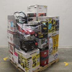 Pallet - 26 Pcs - Pressure Washers, Power Tools, Hand Tools - Customer Returns - Hyper Tough, Space Solutions, Stanley, Keter