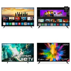 5 Pcs – LED/LCD TVs – Refurbished (GRADE A) – VIZIO, Samsung