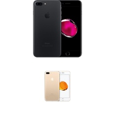5 Pcs - Apple iPhone 7 Plus - Refurbished (GRADE B - Unlocked) - Models: 3C368LL/A, MNQY2LL/A