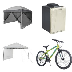 Pallet - 7 Pcs - Camping & Hiking - Customer Returns - Ozark Trail, Movelo, Coleman, Paw Patrol