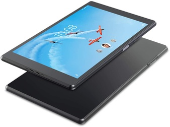 10 Pcs – Lenovo ZA2H0002US Tab 4 Plus Tablet 8″ 1200 x 800 Touchscreen Snapdragon 2.0GHz 2GB RAM 16GB eMMc Android 7.1 Black – Lenovo Certified Refurbished (GRADE A)
