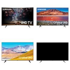 60 Pcs – LED/LCD TVs – Refurbished (GRADE A, GRADE B) – Samsung, RCA, SCEPTRE