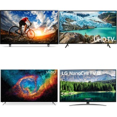 9 Pcs – LED/LCD TVs – Brand New – VIZIO, Philips, Samsung, LG