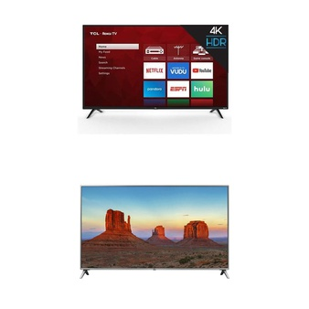15 Pcs – LED/LCD TVs (46″ – 55″) – Refurbished (GRADE A, No Stand) – TCL, LG