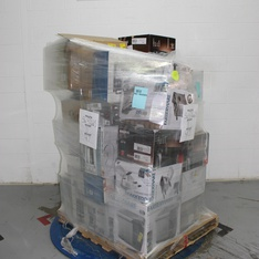 Half Truckload - 13 Pallets - 798 Pcs - Accessories, Humidifiers / De-Humidifiers, Drip Brewers / Perculators, Floor Care - Customer Returns - As Seen On TV, Onn, Mr. Coffee, ClearTV