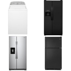 Truckload - 60 Pcs - Major Appliances (Lowe`s) - Refrigerators, Laundry, Ovens / Ranges, Dishwashers - Customer Returns - WHIRLPOOL, Maytag, Frigidaire, Samsung