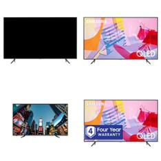 24 Pcs – LED/LCD TVs – Refurbished (GRADE A) – Samsung, RCA