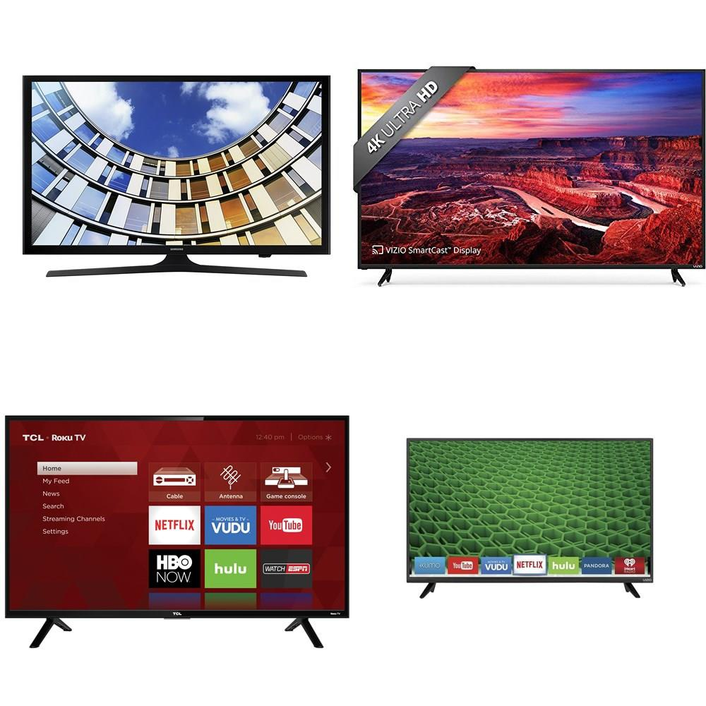 250 Pcs - TVs - Not Working (Cracked Display) - VIZIO, Samsung, TCL, LG -  Televisions