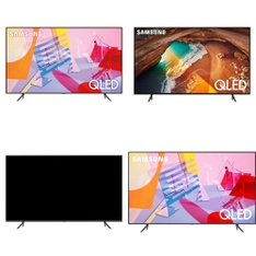 36 Pcs – LED/LCD TVs – Refurbished (GRADE A, GRADE B) – Samsung
