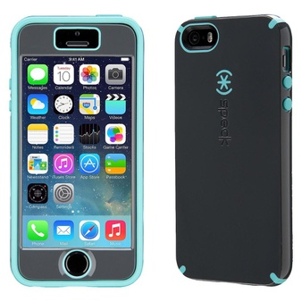 27 Pcs – Speck iPhone 5/5s/se CandyShell Plus Faceplate Gray/Blue – New, Open Box Like New, Like New, New Damaged Box – Retail Ready