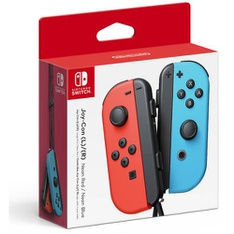78 Pcs - NINTENDO Switch Joy-Con (L/R)-Neon Red/Neon Blue Wireless Controller - Refurbished ( GRADE A ) - Video Game Controllers