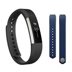 16 Pcs – FitBit 296936841 Alta Bundle – Large -Black – Refurbished (GRADE A)