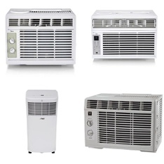 Pallet - 10 Pcs - Air Conditioners - Customer Returns - Midea, Hamilton Beach, Arctic King, Hamilton