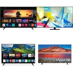 18 Pcs – LED/LCD TVs – Refurbished (GRADE A, GRADE B) – VIZIO, Samsung, LG, TCL