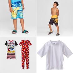 106 Pcs - Clothing -> Boys - New - Retail Ready - Pokemon, Marvel, mickey mouse & friends, Kanu Surf