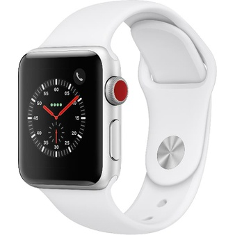 5 Pcs – Apple Watch – Series 3 – 38MM – Cell – Refurbished (GRADE A) – Models: MTGG2LL/A