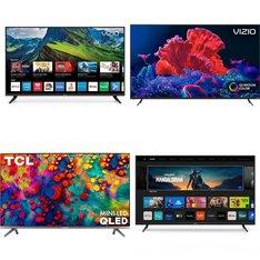 12 Pcs – LED/LCD TVs – Refurbished (GRADE A) – VIZIO, TCL, LG, Sony