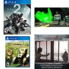 54 Pcs – Sony, Nintendo – Customer Returns – Activision Inc., Ubisoft, United Independent Entertainment, THQ