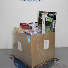 Pallet - 23 Pcs - Power, Tool Accessories, Heaters, Accessories - Tested NOT WORKING - Stanley, Keter, Hyper Tough, Dyna-Glo