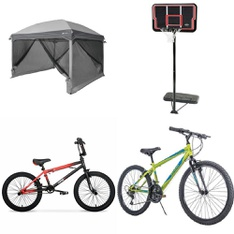 Pallet - 7 Pcs - Camping & Hiking, Cycling & Bicycles - Customer Returns - Ozark Trail, LIFETIME PRODUCTS, INC, Movelo, Hyper Bicycles