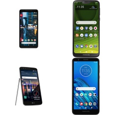 CLEARANCE! 50 Pcs – Cellular Phones – Refurbished (GRADE A, GRADE B, GRADE C – Not Activated) – Motorola, LG, Google Chromecast, ZTE