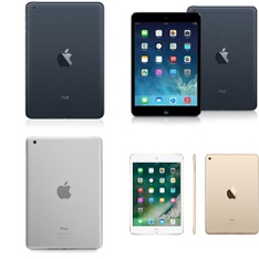 12 Pcs - Apple iPad Mini -Refurbished (GRADE C) - Apple