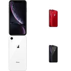 10 Pcs - Apple iPhone XR 64GB - Unlocked - Certified Refurbished (GRADE B)