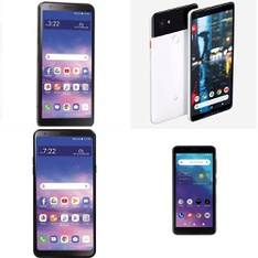 CLEARANCE! 22 Pcs – Cellular Phones – Refurbished (GRADE A, GRADE B, GRADE C – Not Activated) – LG, Google Chromecast, ALCATEL, Motorola