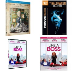 22 Pcs – Movies & TV Media – New, Open Box Like New – Retail Ready – Paramount, Funimation, Miramax, Lionsgate Home Entertainment