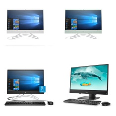 10 Pcs – All In One Computers – Refurbished (GRADE A) – HP, DELL
