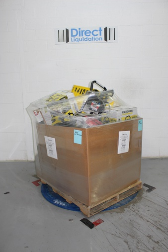 Pallet – 34 Pcs – Tool Accessories, Pressure Washers, Patio – Customer Returns – Trilink Saw Chain, Karcher, Sterling, Hyper Tough
