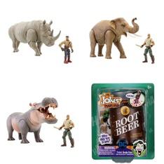 Pallet – 130 Pcs – Toys – Action Figures – Brand New – Retail Ready – Lanard Toys