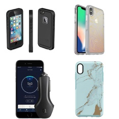 100 Pcs - Cellular Phones Accessories - Like New, Open Box Like New, Used, New Damaged Box - Heyday, OtterBox, Belkin, CASE-MATE