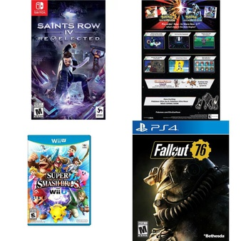 27 Pcs – Video Games – Open Box Like New, Used, New, Like New – NINTENDO, Activision, THQ, Sony