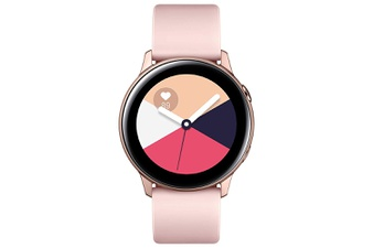 25 Pcs – Samsung SM-R500NZDAXAR Galaxy Watch Active (40mm) Bluetooth Rose Gold – Refurbished (GRADE A – No Power Adapter)